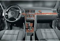 Mercedes W201 (190) накладки на панель Дерево / Накладки на панель Мерседес Бенц W201
