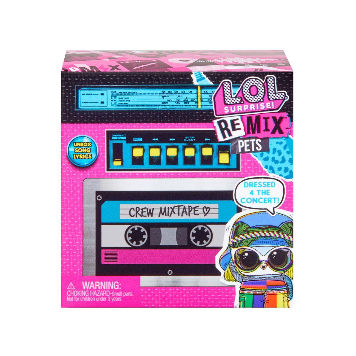 """Игровой набор L.O.L SURPRISE! W1 серии """"Remix"""" - МОЙ ЛЮБИМЕЦ (в ассорт., в дисплее), 567073"""