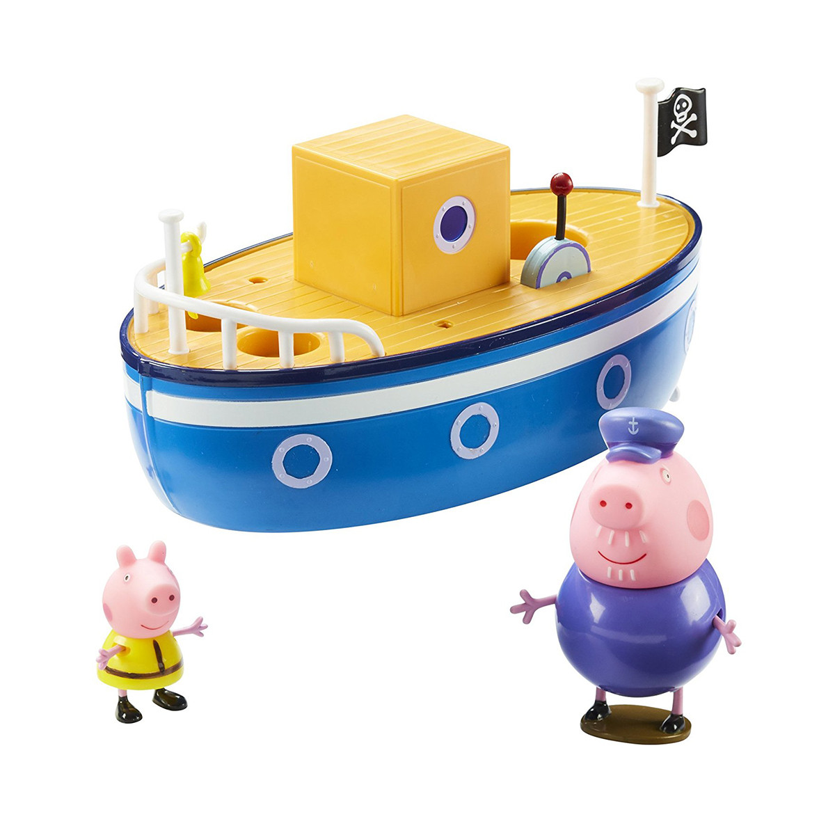 Ігровий набір Peppa - МОРСЬКЕ ПРИГОДА (кораблик, 2 фігурки), 05060