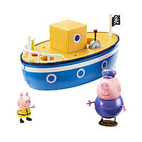 Ігровий набір Peppa - МОРСЬКЕ ПРИГОДА (кораблик, 2 фігурки), 05060, фото 1