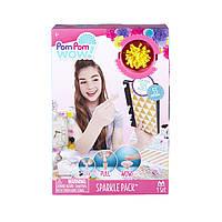 Игровой набор Pom Pom Wow! - ГЛАМУР (55 помпонов с люрексом, 6 цветов), 48527-PPW