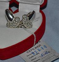 Серебряные серьги 925 пробы , фото 1