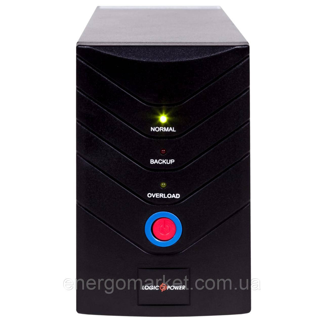 Линейно-интерактивный ИБП Logic Power LP U650VA (390Вт) металл