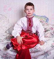 Красные шаровары  для мальчика