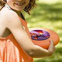 Игрушка - ФРИСБИ (цвет папайя-сливовый), BX1356Z
