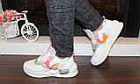 Кросівки білі жіночі Т1213, фото 4