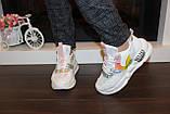 Кросівки білі жіночі Т1213, фото 5