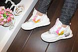 Кросівки білі жіночі Т1213, фото 6