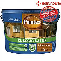 Засіб для захисту деревини Pinotex Classic орегон 10л