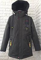 Куртка демісезонна пряма на хлопчика 134-140, фото 1