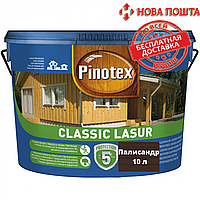 Засіб для захисту деревини Pinotex Classic палісандр 10л
