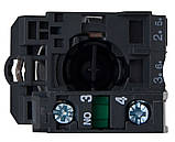 TB5-AD41 поворотна Кнопка 2-х поз. з самовозвр. Станд. ручка, фото 2