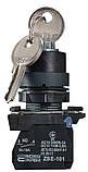 TB5-AG33 поворотна Кнопка з ключем 3-и позиційна, фото 4