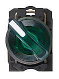 TB5-AK123M5 поворотна Кнопка зелена 2-х поз. з підсвічуванням, фото 2