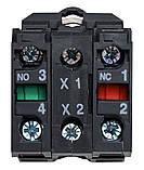 TB5-AK123M5 поворотна Кнопка зелена 2-х поз. з підсвічуванням, фото 4