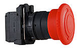TB5-AS542 Кнопка безпеки.Повернення поворотом. d40mm, фото 4