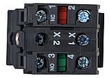 """TB5-AW8365 Кнопка подвійна з підсвічуванням""""Старт/Стоп"""", фото 2"""