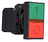 """TB5-AW8365 Кнопка подвійна з підсвічуванням""""Старт/Стоп"""", фото 4"""