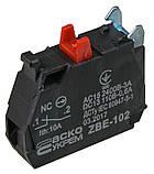 ZBE-102 N/C Контакт для кнопок TB5, фото 2