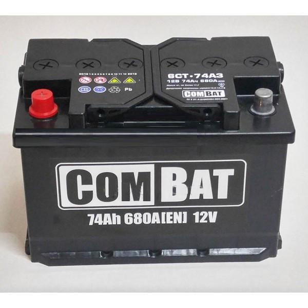 Аккумулятор 6СТ- 74Аз COMBAT