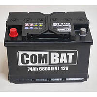 Аккумулятор 6СТ- 74Аз COMBAT, фото 1