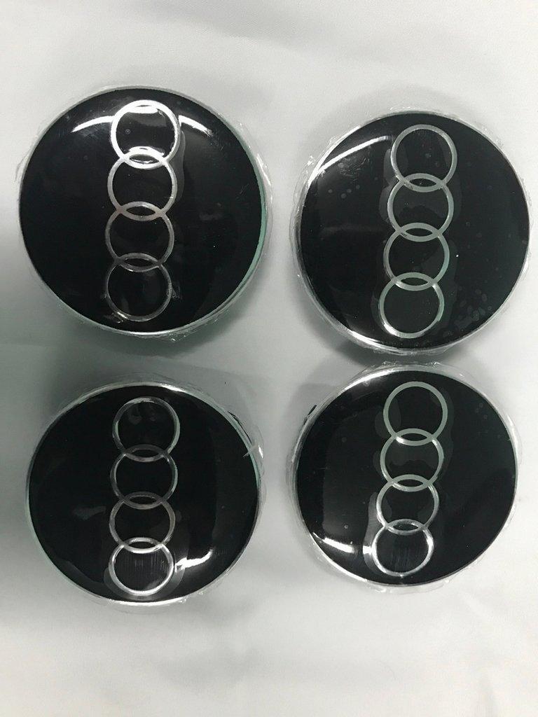 Audi 80 90 Колпачки в титановые диски 64,5 мм внутренний диаметр / Колпачки на диски Ауди 80/90