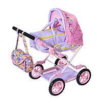 Коляска для куклы BABY BORN - ДЕЛЮКС S2 (складная, с сумкой), 828649