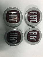 Колпачки в оригинальные диски 49/42,5 мм (4 шт) Fiat Tipo 2016↗ гг. / Колпачки на диски Фиат Типо