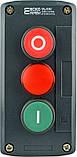 """XAL-D363 Пост керування кнопковий тримісний """"СТАРТ-СТОП-Сигнальна"""", фото 3"""