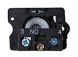 LAY5-ED41 поворотна Кнопка 2-х поз. з самовозвр. Станд. ручка, фото 2