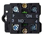 LAY5-EJ33 Кнопка  поворотна 3-и поз. подовжена ручка, фото 2
