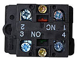 "LAY5-EL8325 Кнопка подвійна  ""Старт/Стоп"" , фото 2"
