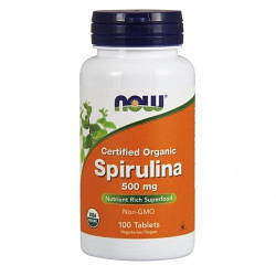 NOW Foods Spirulina 500mg 100 tabs