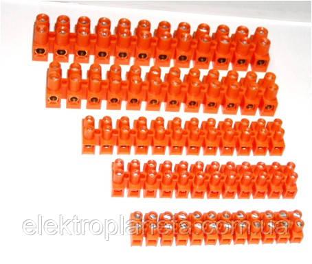 Клемні колодки SIMET помаранчеві 12х35мм2