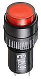 Сигнальна арматура AD22E-12DS червона 24V АC/DC, фото 2