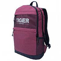 Городской рюкзак на каждый день Tiger Start PR бордового цвета