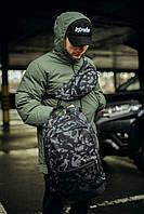 Рюкзак Intruder Городской для ноутбука камуфляж + Бананка camouflage Intruder. КОМПЛЕКТ