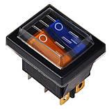Ковпачок захисний силіконовий для  перемикачів KCD2, фото 2