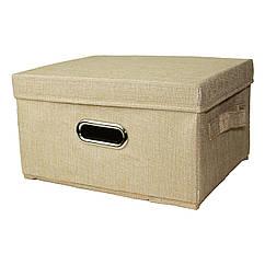 Кошик для іграшок MR 0339-1(Beige) ящик, коробка, 33-25-18см