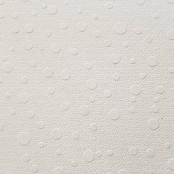 Террасная плитка Coping Горошек белая 40х40х3 см