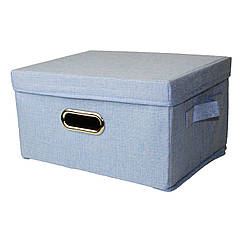 Кошик для іграшок MR 0339-1(Blue) ящик, коробка, 33-25-18см