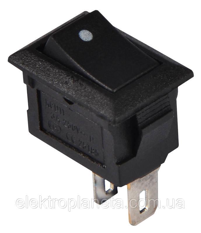 KCD5-101 B/B 1 клав. мініатюр. (чорний)