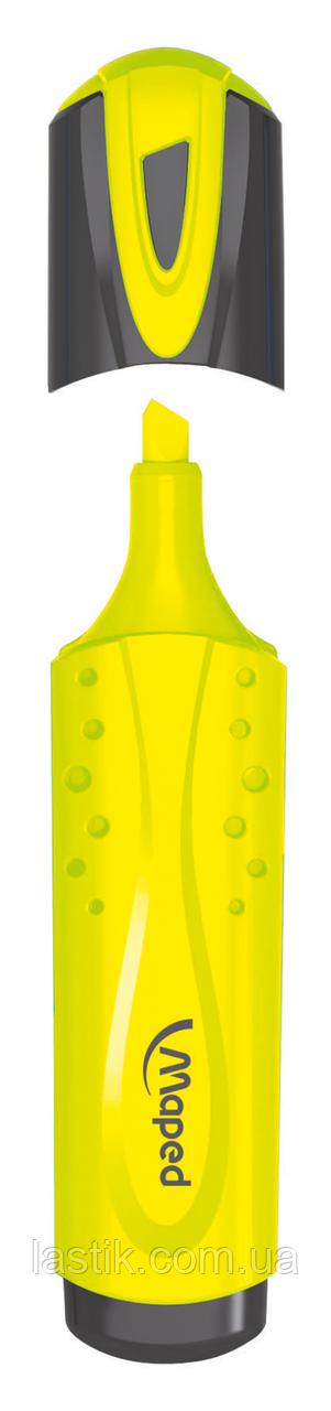 Текстмаркер FLUO PEPS Classic желтый