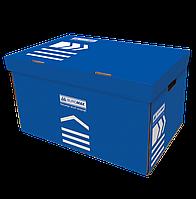 /Короб для архивных боксов 560х380х265 мм синий