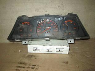 №61 Б/у Панель приладів/спідометр для Nissan Sunny B11 1986-1989