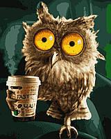 Картина рисование по номерам Утренний кофе PN5454 Artissimo 40х50см роспись по номерам набор