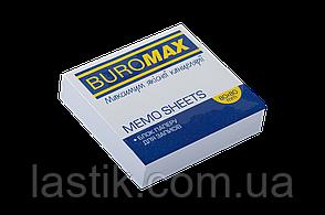 /Блок белой бумаги для записей JOBMAX 80х80х20 мм склеенный