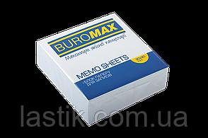 /Блок белой бумаги для записей JOBMAX 90х90х30 мм склеенный