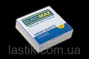 /Блок бумаги для записей ЗЕБРА 80х80х20 мм склеенный