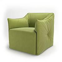 Кресло мягкое для кафе, бара, ресторана, отеля, офиса, лаунж, HoReCa, зеленое